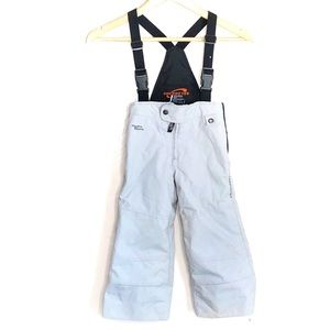 Obermeyer Gray Snowsuit Overalls With Hydroblock